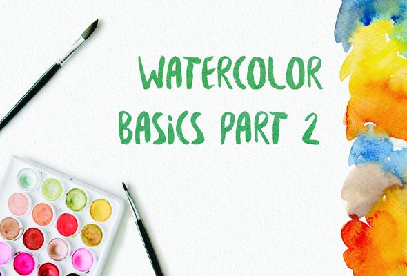 Carousel waterolor basics part 2 postcard plain
