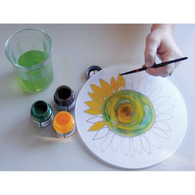 Carousel hpfk painting sunflower