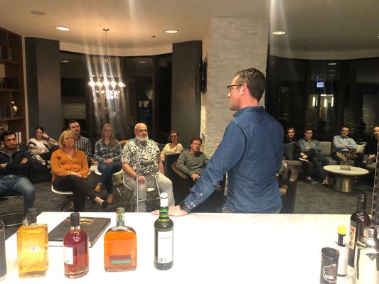 Carousel whiskey tasting dabble chicago ceo