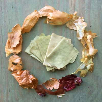 Carousel intro to botanical dyes onion circle