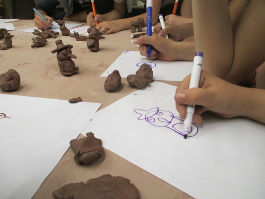 Carousel lill street marker multimedia clay 2015