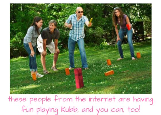 Carousel kubb people
