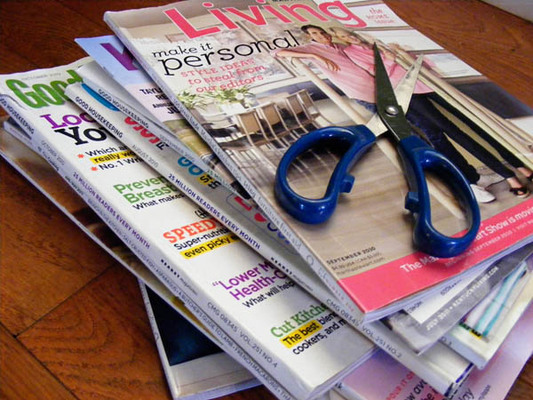 Carousel magazines