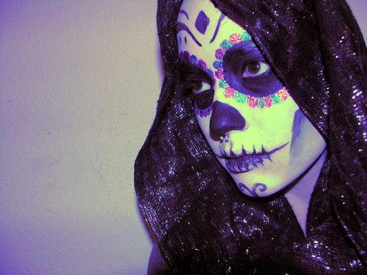 Carousel hipster skull girl by clickypenpixiexstock d41vac4