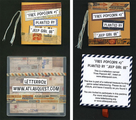 Carousel free popcorn boxes web