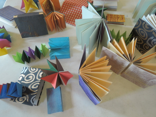 Carousel dabble folded form samples