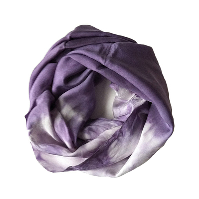 Carousel purple scarf  tie dye scarf  silk infinity scarf silk scarf  silk scarves  summer scarf  scarf  silk infininty scarves  infinity scarf  circle scarves  scarves for summer  summer cover up  fall scarf  fall scarves  scarves for fall.