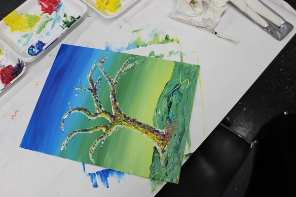 Carousel pop up painting 5