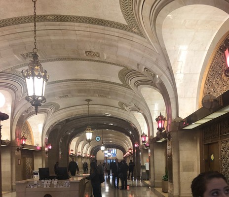 Carousel inside city hall