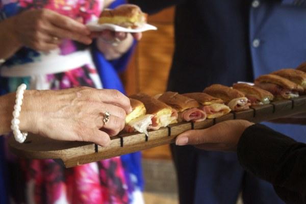 Carousel mini deli sandwich
