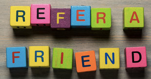 Mobile friend referral