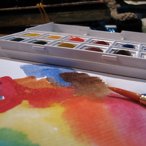 Watercolor painting classes in chicago dabble for Painting class chicago