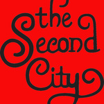 Small square second city curly logo red