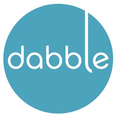 Big square dabble logo large