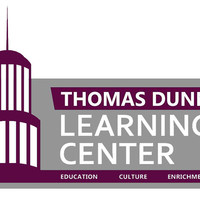 Medium square thomas dunn learning center plum and grey logo png