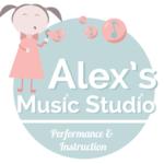 Small square alexsmusicstudio logo v2