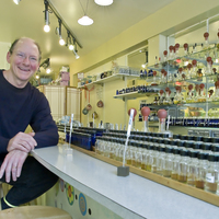 Medium square aromatherapist and perfumer tedd neenan