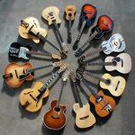 Small square guitar circle