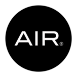 Small square air logo no background