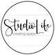 Small square studio life seattle logo