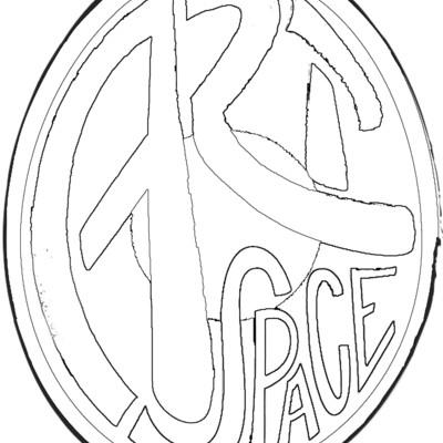 Big square black and white logo copy
